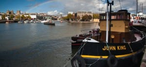 Working exhibits - Image of the John King tug boat
