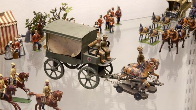 Photo of a toy display at Blaise Castle House Museum