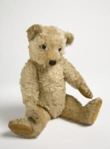 image of an old teddy bear