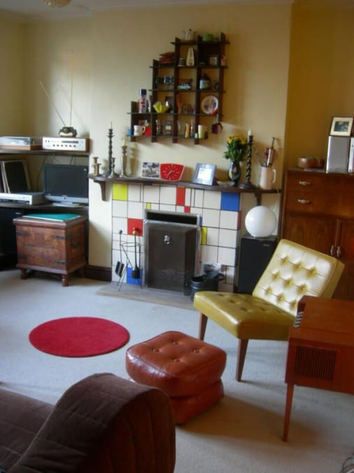 photograph of a bristol living room