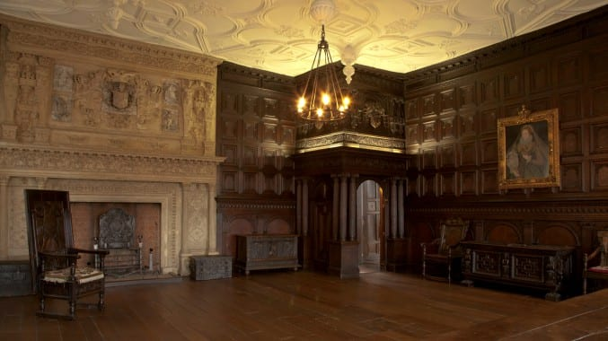 Photo of the Great Oak Room at the Red Lodge Museum in Bristol