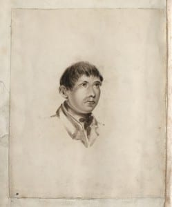 illustration of a man in the John Horwood book