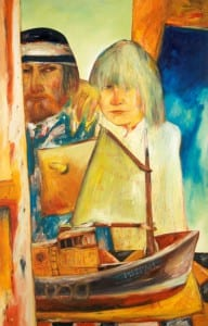 Painting by John Bellany called Self Portrait with Juliet
