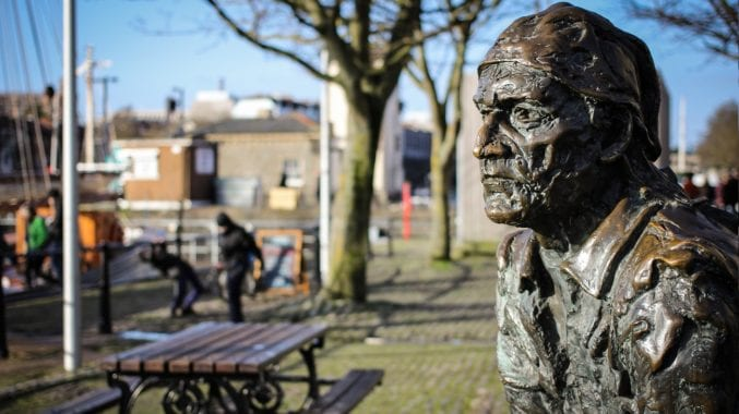 Brilliant Bristolian John Cabot statue © Matt Gibson