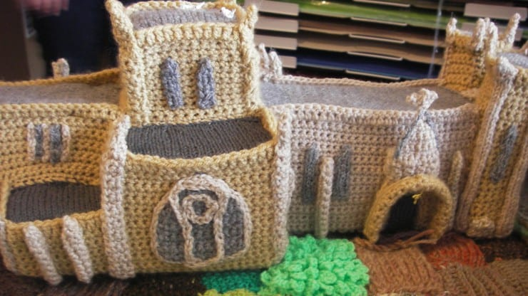 Woolly Model-Making: M Shed