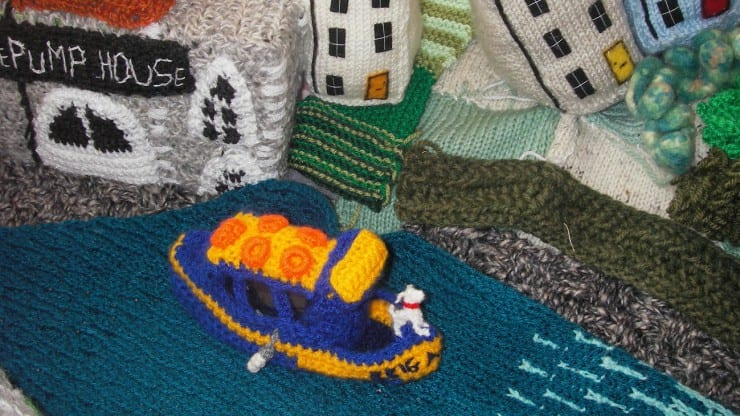 Woolly Model-Making: Small Boats
