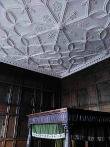 Ceiling in The Red Lodge Museum