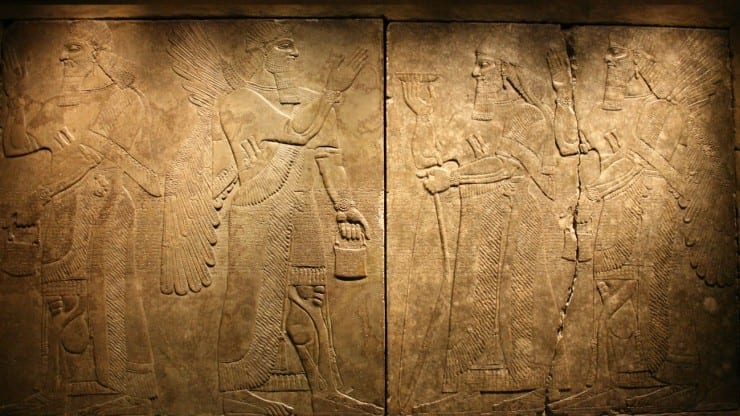 Late lunch talk: The King of Assyria's carved reliefs