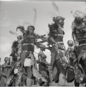 Group of Kuria dancers, c1958