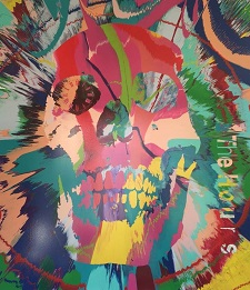 Beautiful Hours Spin Painting IX by Damien Hirst