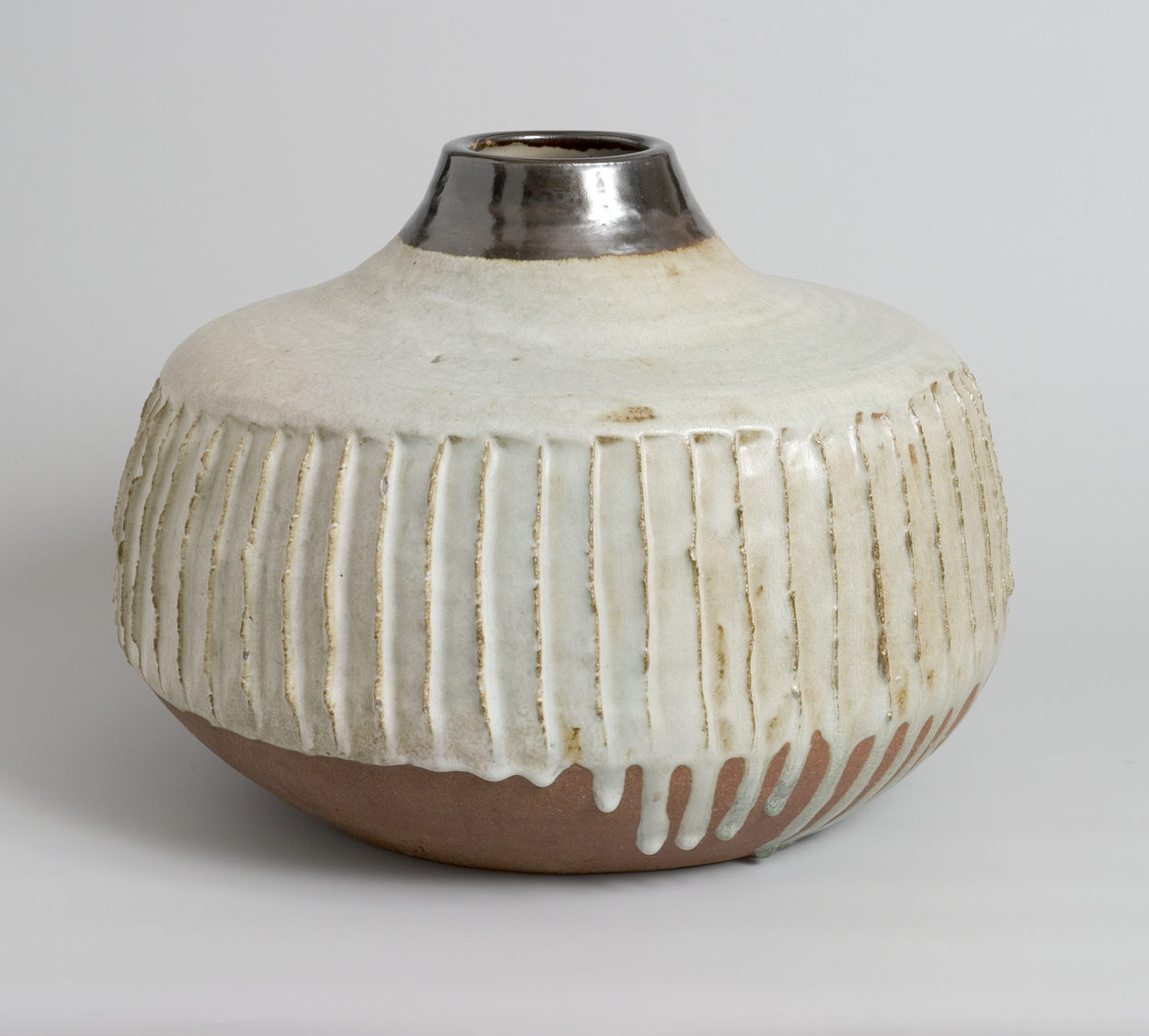 A piece of pottery by Janet Leach