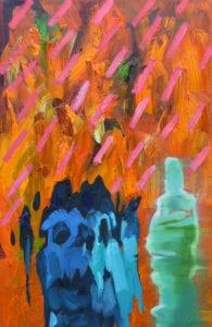 George J Harding - Pink rain and pain