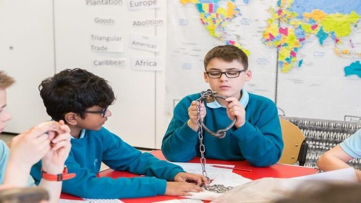 School loan box: Bristol and the Transatlantic Traffic in Enslaved Africans
