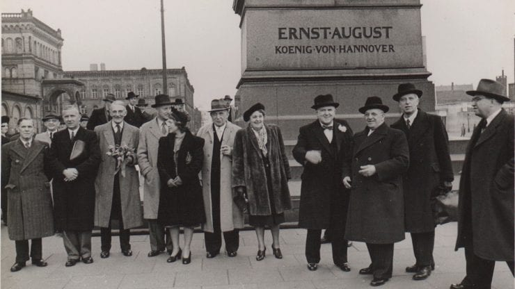 70 years of twinning: Bristol-Hannover and Bristol-Bordeaux