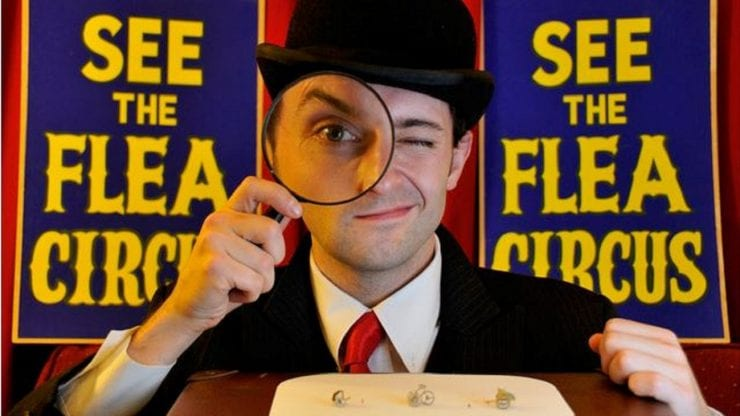 The Flea Circus: The Smallest Show on Earth