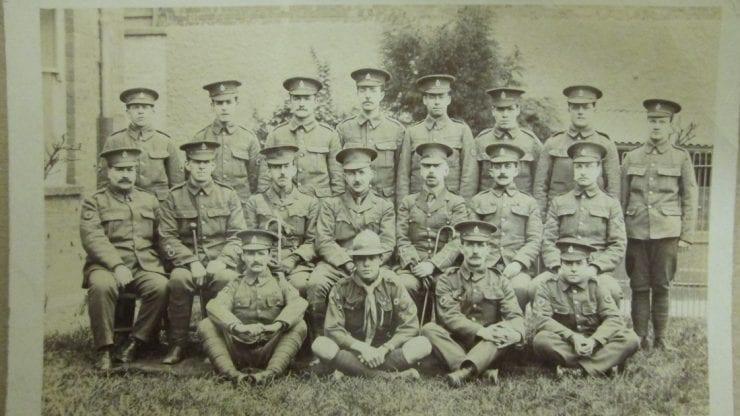 World War One School Assembly