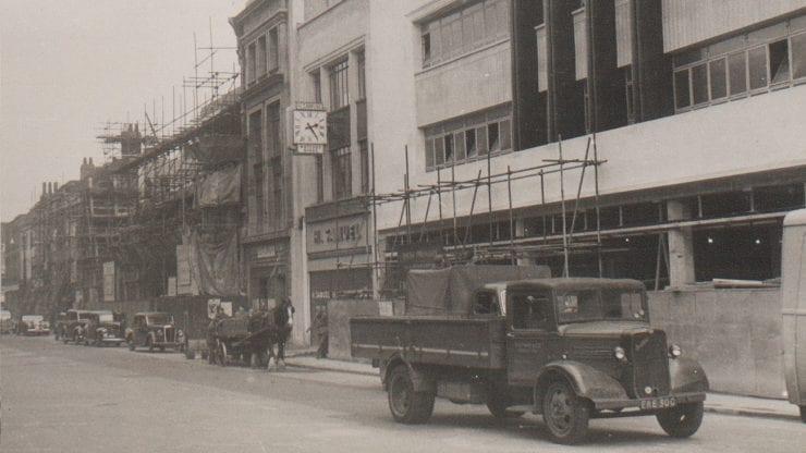 A new beginning: rebuilding post-war Bristol