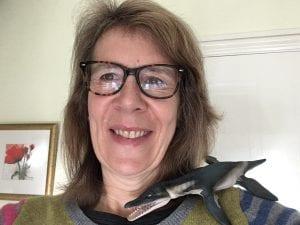Sarah Fuller – Pliosaurus exhibition volunteer