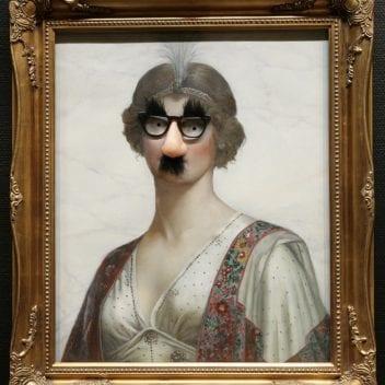 Photo of Banksy art
