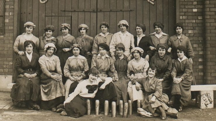 Bristol women at war