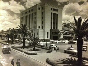 Downtown Nairobi in the 1950s, from the Charles Trotter collection (ref. 2001/090/1/5/1)