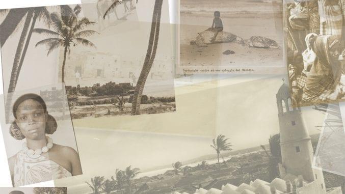 Photo montage representing the Somali life