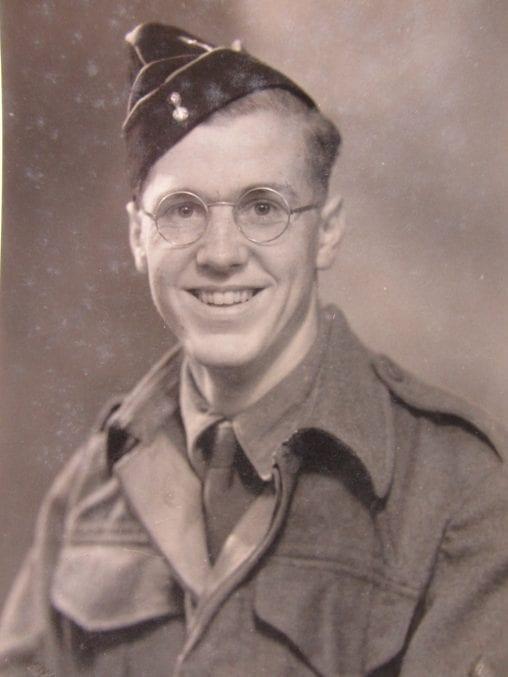 A • Portrait of Joseph Stephens in uniform