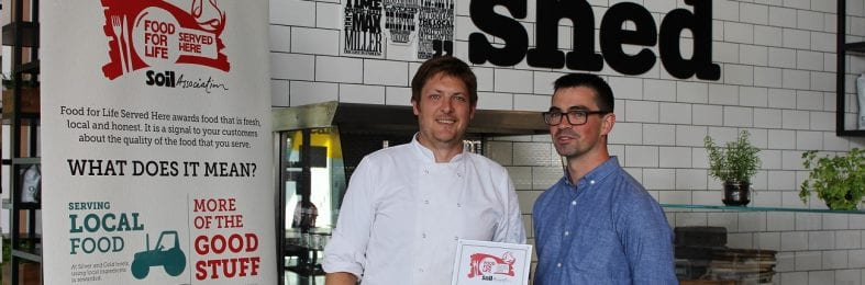 The cafes receive prestigious food award