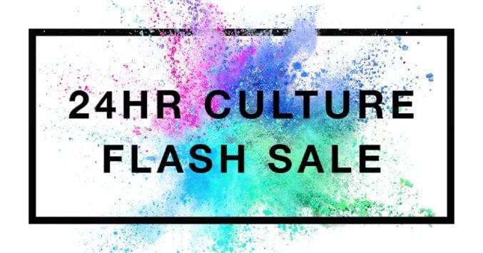 24 hour culture flashsale artwork