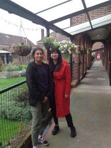Makala Cheung and Natasia Patel