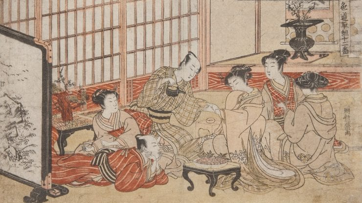 Masters of Japanese prints: Life in the city