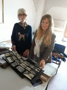 Wendy Keal and her daughter Verity Eastman visiting Bristol Archives