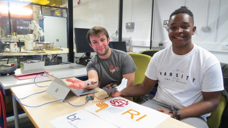 Bio-inspired smart joints and robotic limbs with Bristol Robotics Laboratory