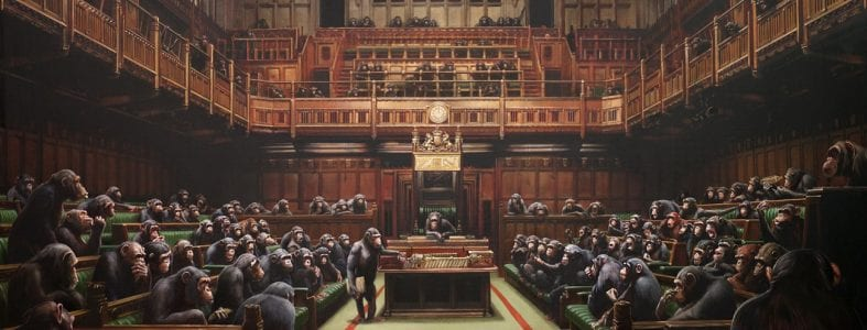 Banksy's Devolved Parliament