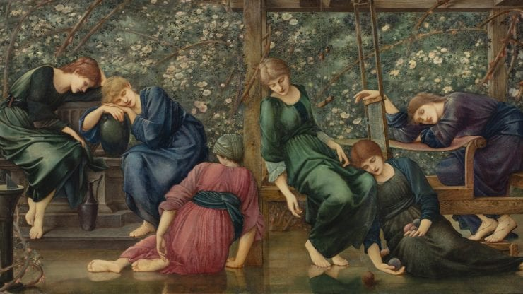 Pre-Raphaelites: Dreaming of a medieval past