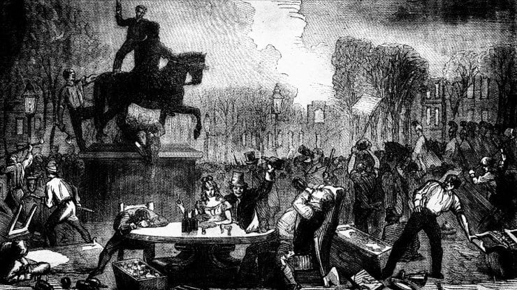 Summer walk: Riots, massacres and reform, 1700s-1832
