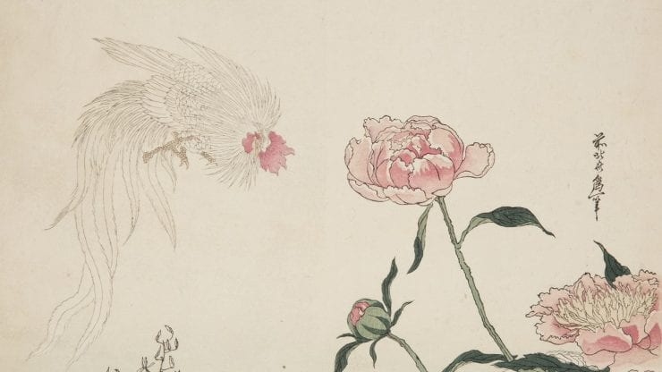 Birds in Japanese prints