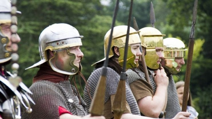 Romans at the Villa