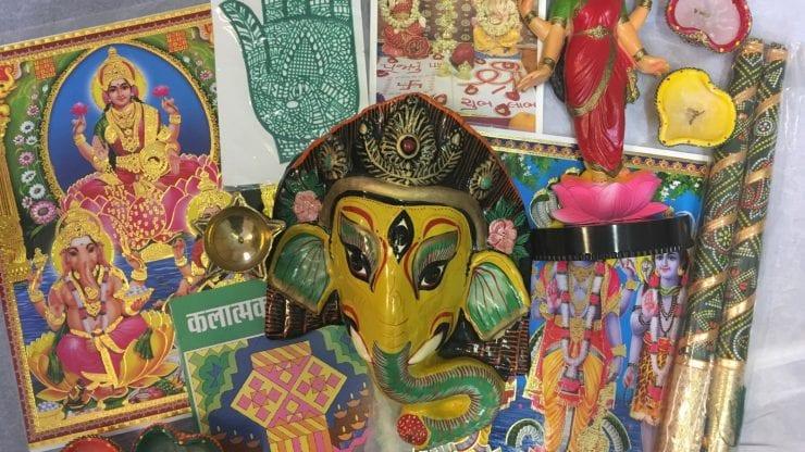 School loan box: Hindu Faith and Diwali Festival
