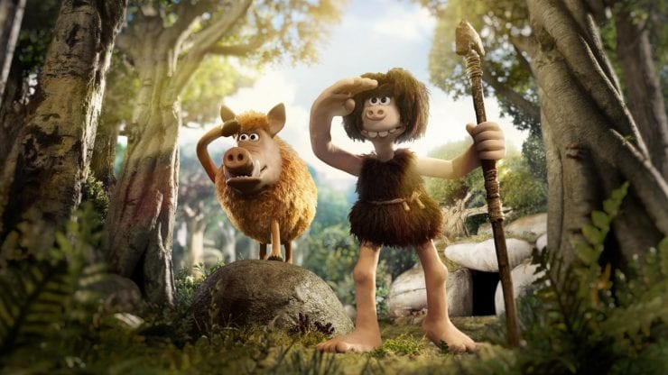 Early Man outdoor screening