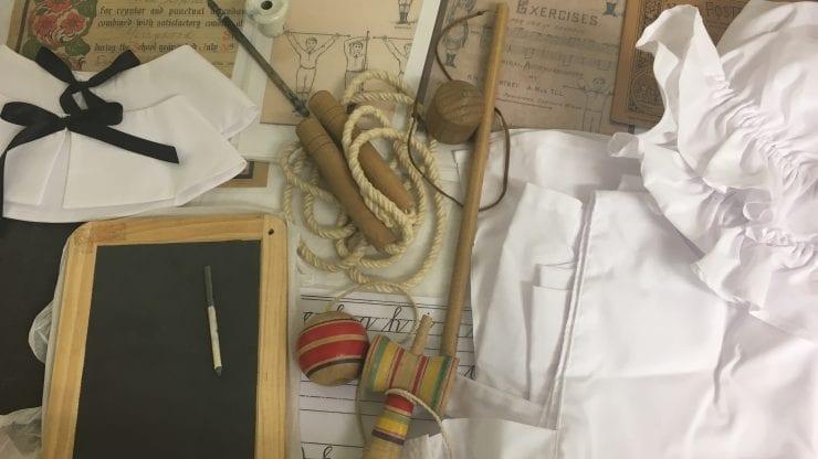School loan box: Victorian school