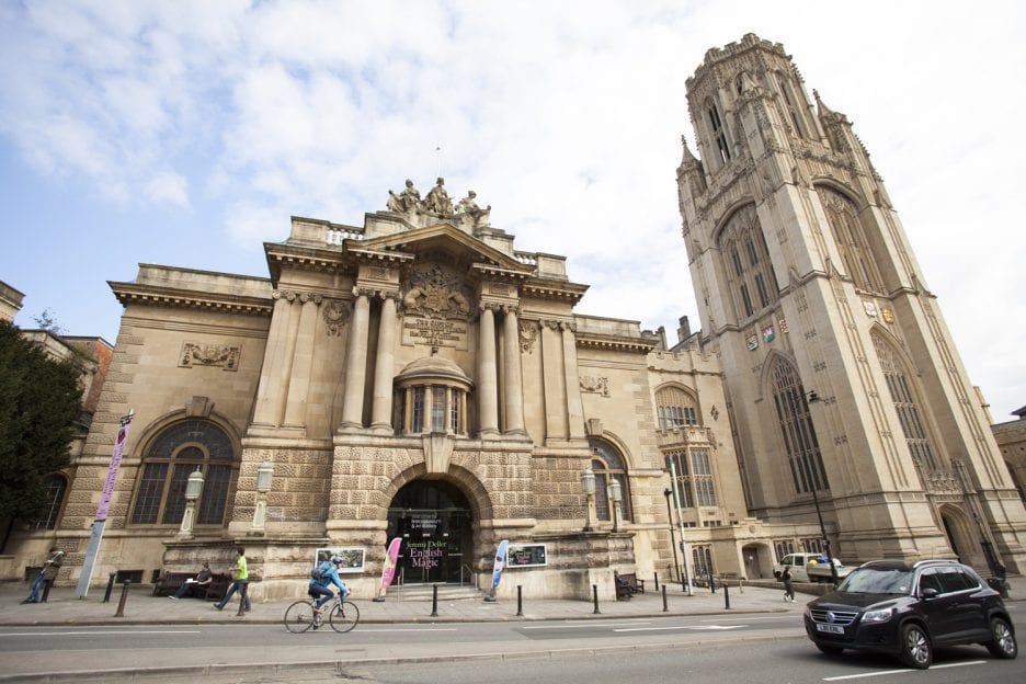 photo of the bristol museum and wills memorial buildings
