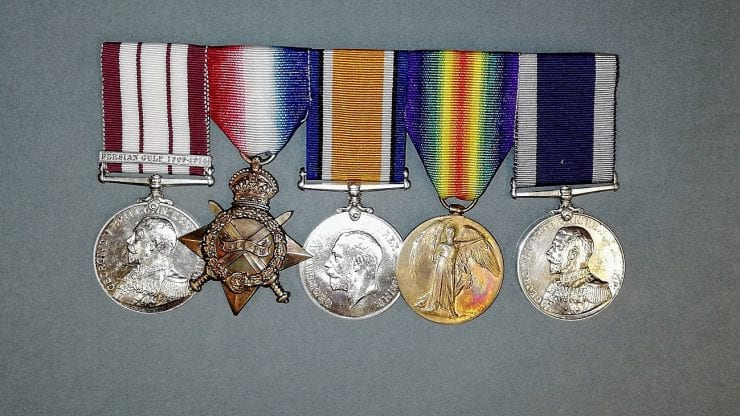 Heroes and villains: stories behind medals