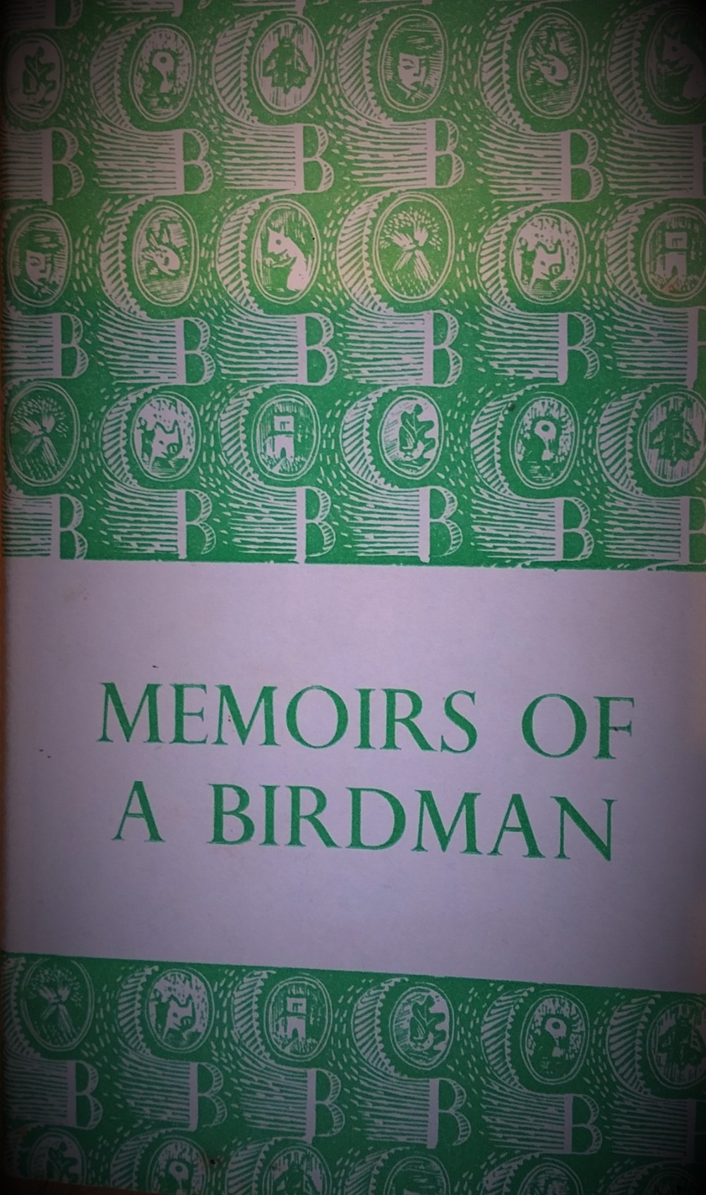 "Book cover for ""Memoirs of a Birdman"" by Lugwig Koch - book about how he recorded bird song"