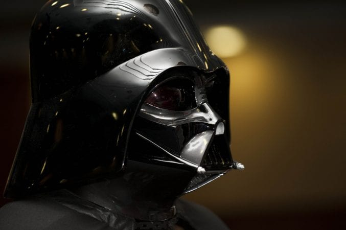 Image of Darth Vader played by David Prowse from Bristol
