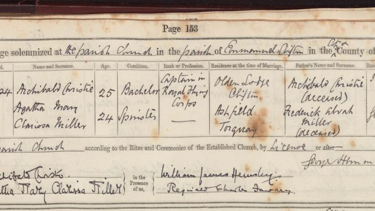 Using parish registers for family history research