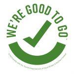 'We're Good To Go' logo