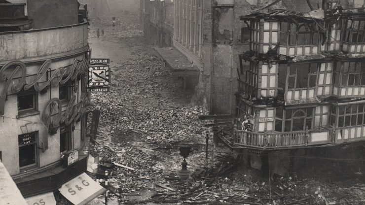 KS2 webinar: Sounds and sights of the Bristol Blitz