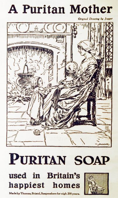 Advert for Puritan soap, 1917