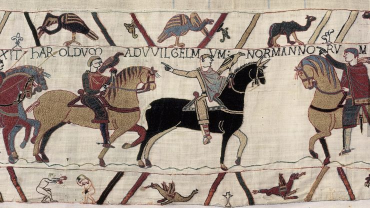 Archaeology Online: What is missing from the Bayeux Tapestry?